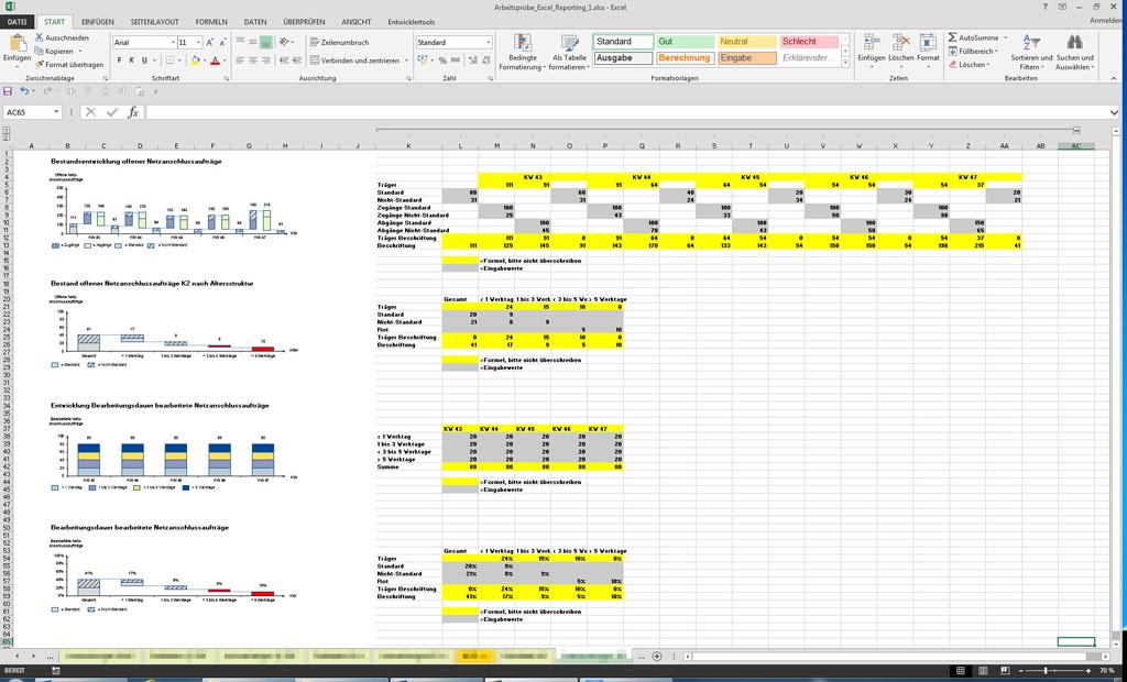 MS Excel® | DVBO Grafik & Co. | Dienstleistungen: PowerPoint, Word ...